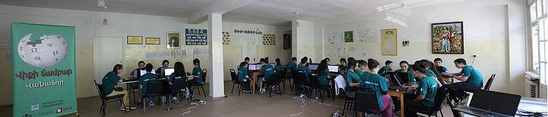 Вікітабір 2014. Автор фото — Beko, ліцензія CC-BY-SA-3.0