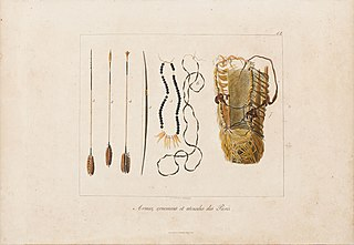 Armes, ornemens et utensiles des Puris
