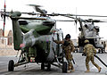 Army Air Corps Lynx Mk9A Helicopter Refuelling at Camp Bastion, Afghanistan MOD 45153336.jpg