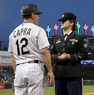 Nick Capra American baseball player & coach