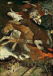 Arnold Böcklin: Der Krieg (Dresden)