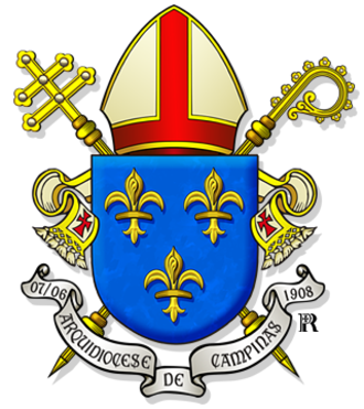 Roman Catholic Archdiocese of Campinas - Coat of Arms of the Archdiocese of Campinas