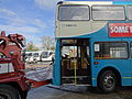 Arriva bus 5911 (M911 MKM) being towed for scrap, 12 November 2013 (8).jpg