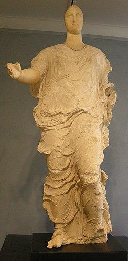 Arte greca, forse dalla sicilia, venere, 425-400 ac..JPG