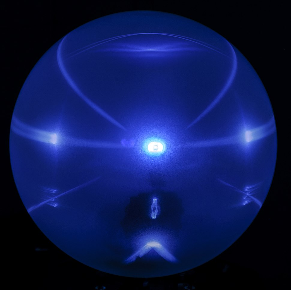 Artificial Halo projected on a spherical screen