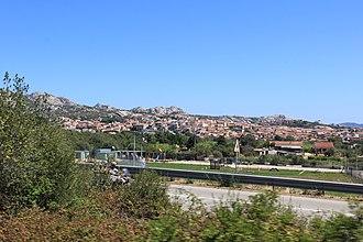 Arzachena - Image: Arzachena, panorama (01)