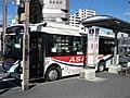 Asahibus 2351 at Kasukabe Station.jpg
