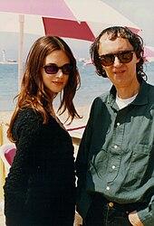 Asia e il padre Dario Argento al Festival di Cannes del 1993