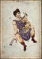 Astronomy; signs of the zodiac, Auriga. Coloured engraving b Wellcome V0024936.jpg
