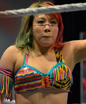 Asuka (wrestler) - Asuka in March 2016