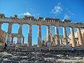 Athen, Akropolis, Parthenon Nordseite 2015-09.jpg