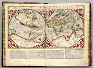 Prime meridian - Gerardus Mercator in his Atlas Cosmographicae (1595) uses a prime meridian somewhere close to 25°W, passing just to the west of Santa Maria Island in the Atlantic. His 180th meridian runs along the Strait of Anián (Bering Strait)