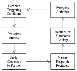 Attachment in adults - Security-based strategy of affect regulation.