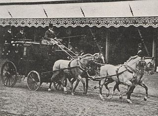 Equestrian at the 1900 Summer Olympics – Mail coach Equestrian at the Olympics