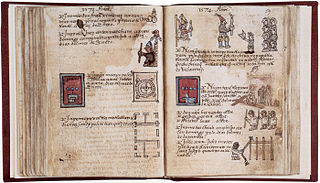 Aubin Codex Aztec textual and pictorial history book