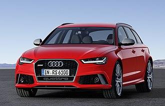 Audi RS 6 - Image: Audi RS 6 Avant performance (22378969206) (crop)