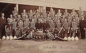 Kadina, South Australia - Image: Australia Copper City Brass Band, Kadina, 1907