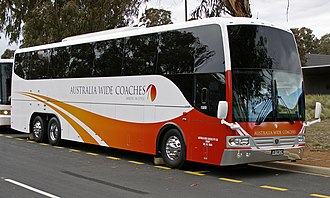 Scania K series - Australia Wide Coaches, Sydney Coach Design-bodied Scania K480EB