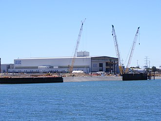 Attack-class submarine - The ASC shipyard in Osborne, South Australia. The original intention was to build the new submarines at this government-owned shipyard, even if ASC was not the successful tenderer.