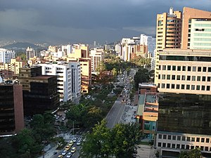 Avenida El Poblado-Medellin