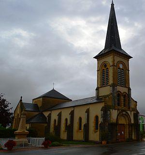 Avrilly, Allier - Avrilly Church