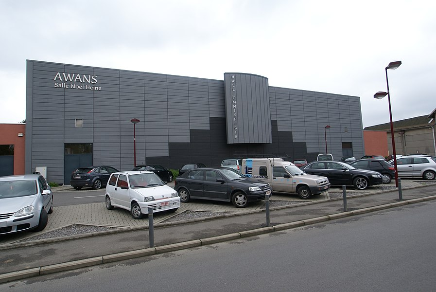 Awans (Belgium): Sports centre Noel Heine