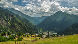 Skyline of Azad Kashmir