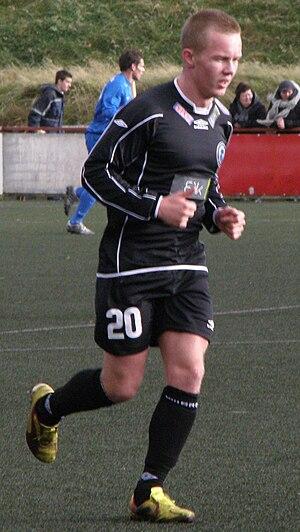 Bárður Hansen - Image: Bárður J Hansen a Faroese Football Player