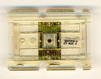 Soviet integrated circuit designation - Image: B533tm 2