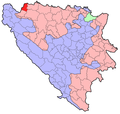 BH municipality location Bosanska Kostajnica.png