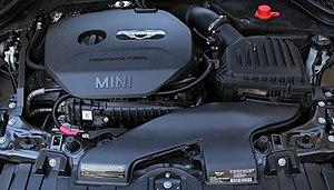 BMW B48 - BMW B48 installed in a 2014 Mini Cooper S