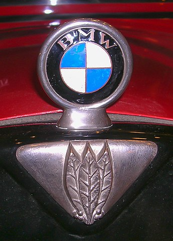 BMW badge on a 1931 Dixi