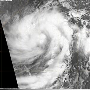 Cyclone Bijli - Image: BOB 01 2009 4 15 09 0716Z