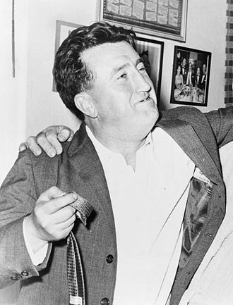 Brendan Behan - Behan in 1960