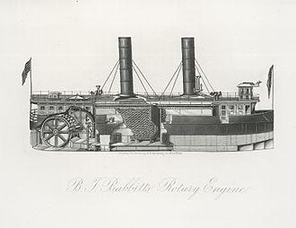 Shipbuilding - Babbitt's rotary engine