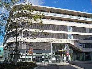 Braunschweiger Zeitung - BZV headquarters in Braunschweig.