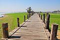 Back at U Bein bridge - the longest teak bridge in the world!.jpg
