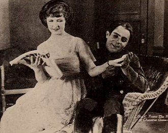 Laura La Plante - LaPlante in 1920. She is seen here alongside Bobby Vernon in an image published within the Exhibitors Herald