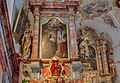 Bad Endorf Antwort Wallfahrtskirche Mariä Himmelfahrt Kreuzaltar Altarblatt Selige Irmengard von Frauenchiemsee 2017 10 07.jpg
