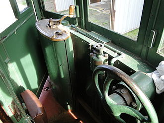 Trams in Geelong - Geelong Tram No. 29, driver's cabin