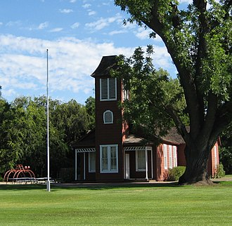 Ballard, California - Ballard School in 2011