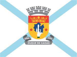 Duque de Caxias, Rio de Janeiro - Image: Bandeira caxiense