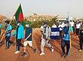 Bangladeshi Forces in UN Day Prog at Timbuktu, Mali.jpg