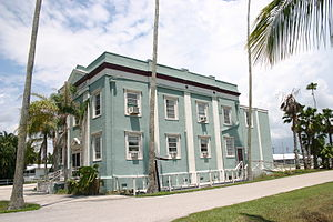 National Register of Historic Places listings in Collier County, Florida - Image: Bank Of Everglades Bldg Corner