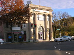 Bank of Brightwood building
