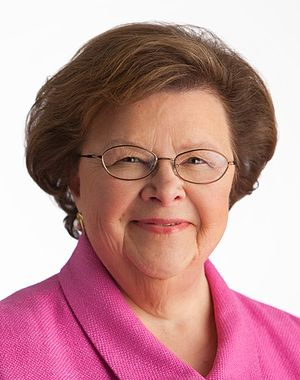 United States Senate election in Maryland, 2010 - Image: Barbara Mikulski official portrait c. 2011