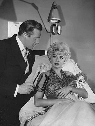 Fredd Wayne - Fredd Wayne with Barbara Nichols on The Twilight Zone, 1961