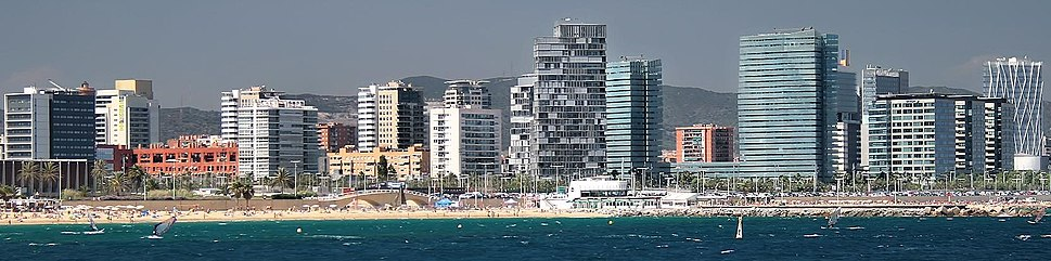 A part of the 22@Barcelona, business and innovation district