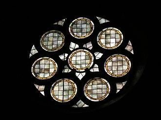 Barlingbo Church - Barlingbo Church stained glass window