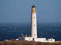 Barns Ness lighthouse - geograph.org.uk - 1761800.jpg